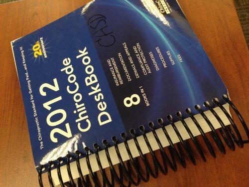 2012 ChiroCode Deskbook 8 Books in 1