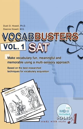 9780967732831: Vocabbusters SAT: Make Vocabulary Fun, Meaningful and Memorable