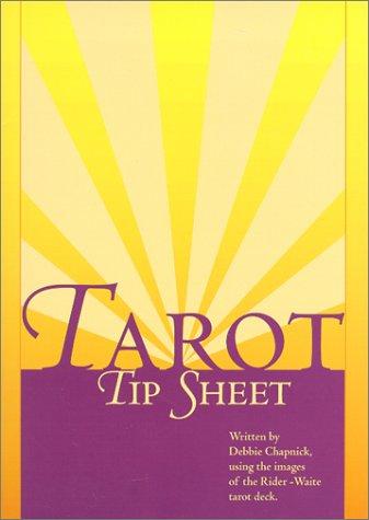 9780967752303: Tarot Tip Sheet