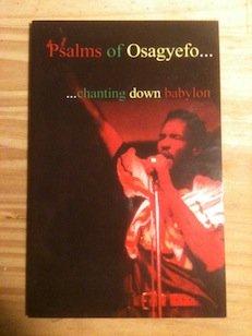 9780967764443: PSALMS OF OSAGYEFO. CHANTING DOWN BABYLON