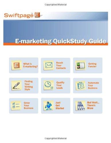 9780967765808: Swiftpage E-Marketing QuickStudy Guide