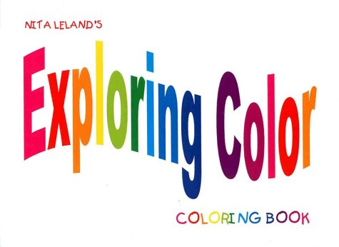 9780967780436: Exploring Color Coloring Book