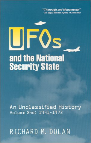 9780967799506: UFOs and the National Security State: An Unclassified History, Volume 1: 1941-1973