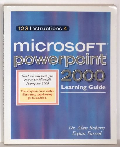 9780967805313: 123 Instructions 4 Microsoft PowerPoint 2000 (123 Instructions 4 User Guides)