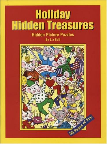 9780967815916: Holiday Hidden Treasures: Hidden Picture Puzzles for Special Celebrations