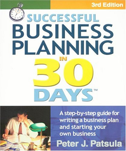 9780967840239: Successful Business Planning in 30 Days: A Step-By-Step Guide for Writing a Business Plan and Starting Your Own Business, Third Edition