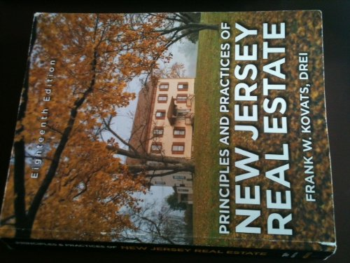 9780967843018: Principles and Practices of New Jersey Real Estate