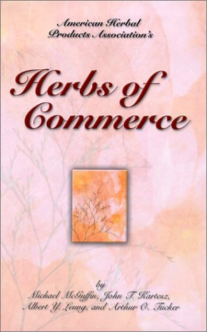 9780967871905: Herbs of Commerce
