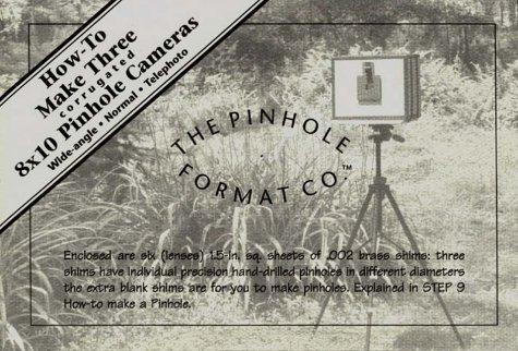 9780967914701: How-To Make Three corrugated 8x10 Pinhole Cameras: Wide-angle, Normal, Telephoto