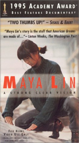 9780967918105: Maya Lin - A Strong Clear Vision (Architect Documentary) [VHS]