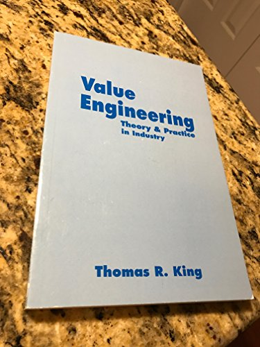 9780967921716: Value Engineering Theory & Practice in Industry