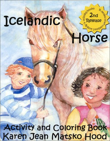 9780967936802: Icelandic Horse Activity and Coloring Book (Icelandic Horse Activity & Coloring Book (An Open Ended Series).)