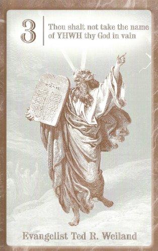 9780967939261: Thou shalt not take the name of YHWH thy God in vain (The Ten Commandments, 3)