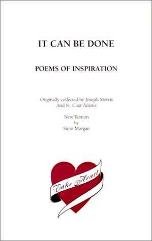 It Can Be Done : Poems of: St. Clair Adams;