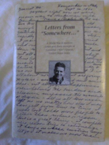 "Letters from ""somewhere."": A memoir from World: Granai, Cornelius"