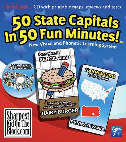 9780967970820: 50 State Capitals in 50 Fun Minutes!