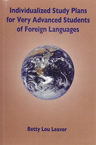 9780967990736: Individualized Study Plans for Very Advanced Students of Foreign Languages