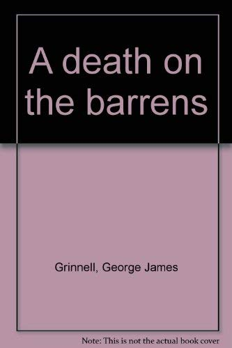 9780968040409: A death on the barrens