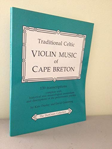 9780968080207: Traditional Celtic Violin Music of Cape Breton : The Dungreen Collection