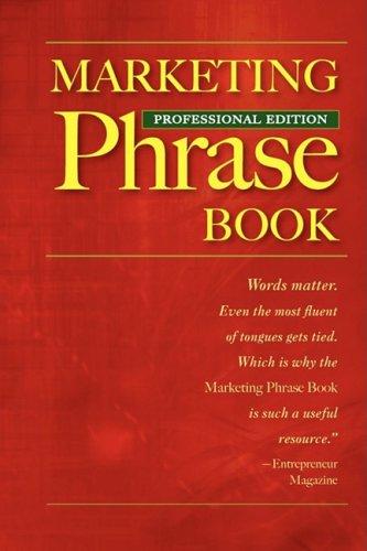 9780968085394: Marketing Phrase Book