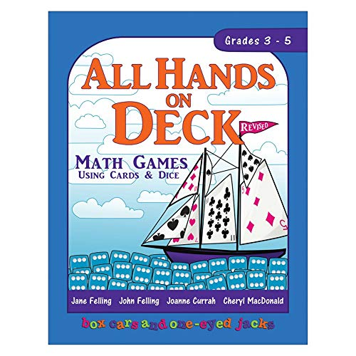 9780968161333: All Hands on Deck (Math Games using Cards and Dice, Volume II: Grades 1-9)