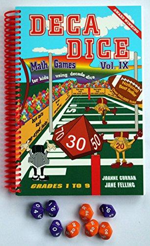 9780968161395: Deca Dice / Math Games for Kids Using Decade Dice, Grades 1-9, Vol. 9