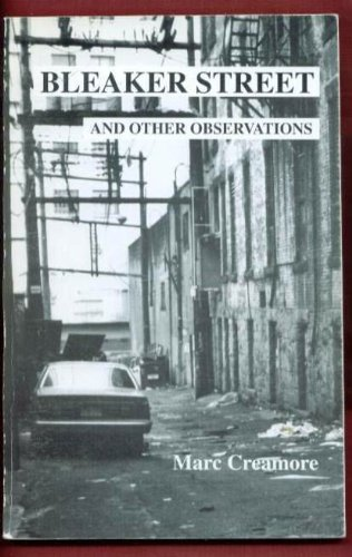 9780968199701: Bleaker Street and Other Observations