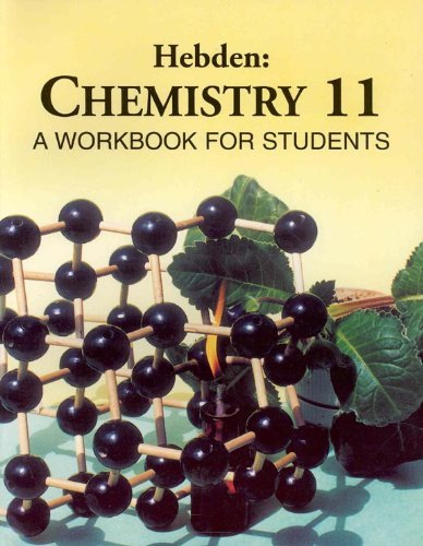 9780968206911: Hebden: Chemistry 11, a workbook for students