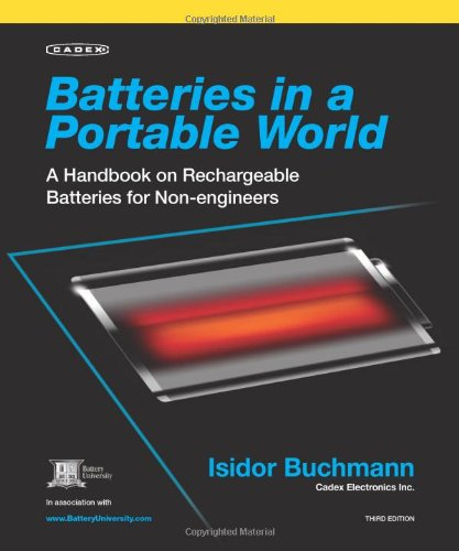 9780968211830: Batteries in a Portable World: A Handbook on Rechargeable Batteries for Non-Engineers, Third Edition