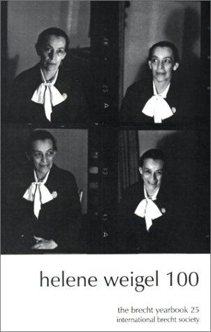 Helene Weigel 100 (Paperback)