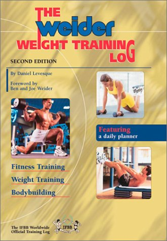 9780968400425: The Weider Weight Training Log