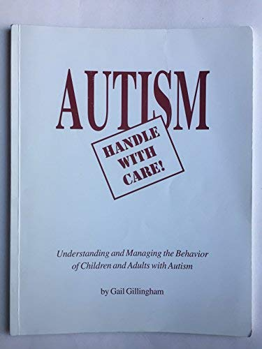 9780968421918: Autism Handle with Care