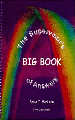 9780968443002: The Supervisor's Big Book of Answers