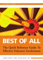9780968476031: Best of All - The Quick Reference Guide to Effective Volunteer Involvement
