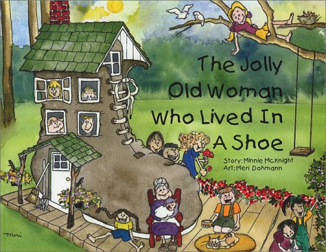 9780968511800: The Jolly Old Woman Who Lived in a Shoe
