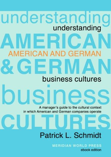 9780968529331: Understanding American and German Business Cultures