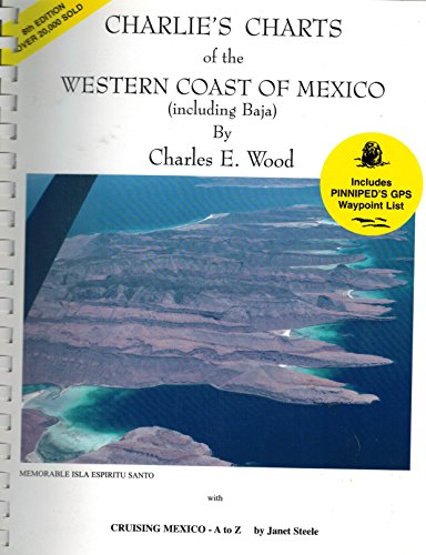 9780968637005: Charlie's Charts of the Western Coast of Mexico (Including Baja)