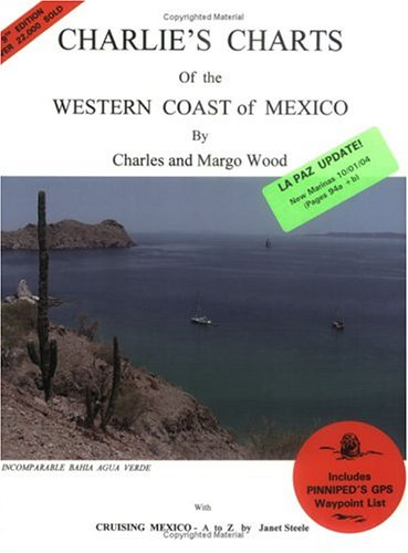 9780968637036: Charlie's Charts of the Western Coast of Mexico