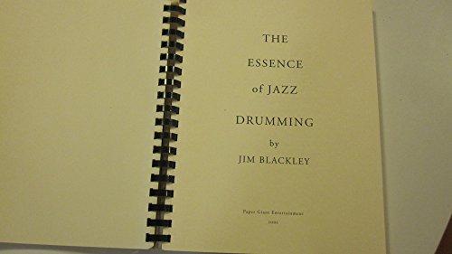 9780968840603: The Essence of Jazz Drumming