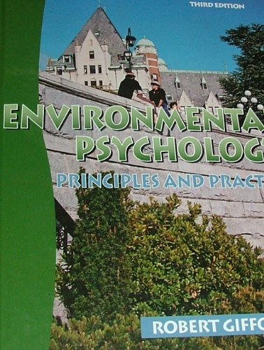 9780968854303: Environmental Psychology: Principles and Practice (3rd ed.)