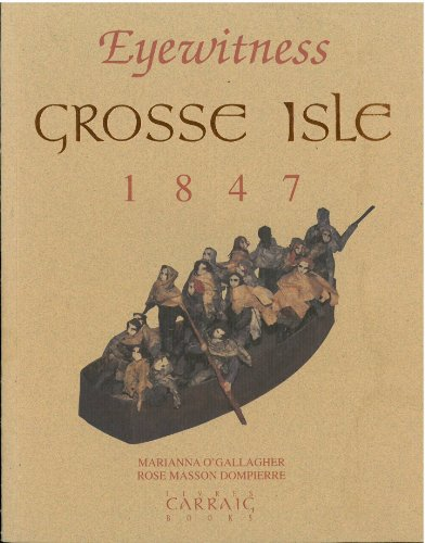 9780969080596: Eyewitness: Grosse Isle, 1847