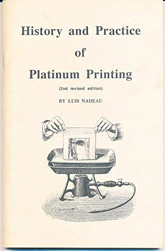9780969084129: History and practice of platinum printing