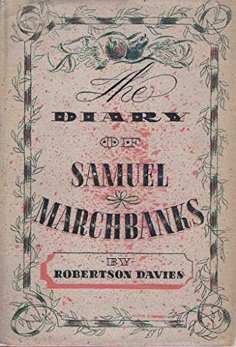 9780969110996: The diary of Samuel Marchbanks;