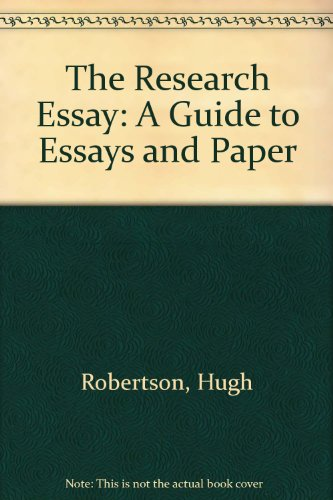 9780969306870: The Research Essay: A Guide to Essays and Paper