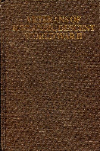 9780969489108: Veterans of Icelandic Descent: World War II 1939-1945