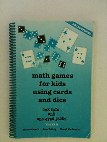 Math Games for Kids Using Cards and: Joanne Currah; Jane