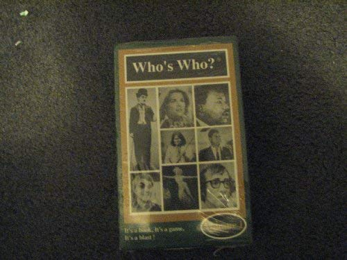 9780969675600: Who's Who, Volume 1 (Volume 1)
