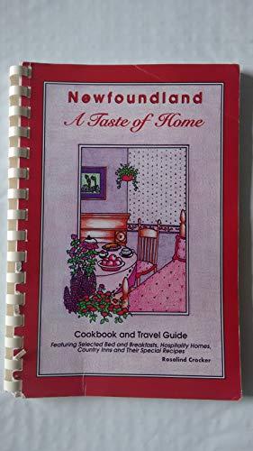 Newfoundland A Taste of Home Cookbook and: Rosaline Crocker
