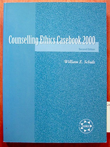 9780969796619: Counselling Ethics Casebook 2000
