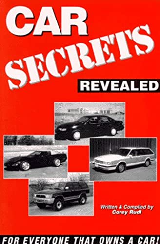 9780969808329: Car Secrets Revealed: Tips on Car Buying, Leasing, Repairs, Insurance, and More/with IBM and MAC software
